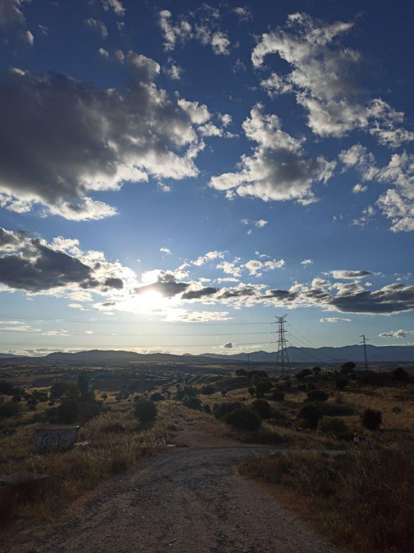 Fotografía paisaje sin HDR